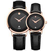 Wholesale dom watches - Loves Simple watch DOM 2108 fashion leather 30m waterproof calendar quartz watch Valentine gift watch