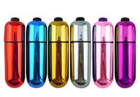 ücretsiz vibratör yumurta toptan satış-Yeni Sessiz Titreşim Yumurta, Kadın Mastürbasyon Bullet Vibratör, Kadınlar için su geçirmez Seks Oyuncakları Yetişkin oyuncaklar Ücretsiz Kargo
