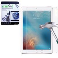 ipad mini bildschirm klarer film großhandel-Für iPad Mini 4 5 6 Displayschutzfolie 2.5D 9H 0.3mm Durchsichtiger Tablet PC Film Hartglas Zubehör mit Paket