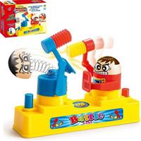 Wholesale old children games online - Desktop Toy Intelligence Hammening Content Activate Battle Game Plastic Parenting Fight Against Double Man Interactive Kid Child xt V