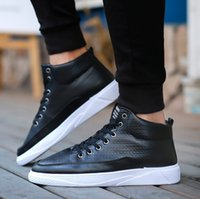 Wholesale snow boots price resale online - The new autumn and winter boots male British high casual men boots fashion shoes with factory price and top quality