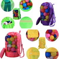 Wholesale bedding packaging for sale - Group buy 16 Colors Shell Shape Beach bag Outdoor travel package Collapsible Bag Outdoor children s backpack Travel Insert Storage Bags T1I342