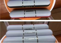 ingrosso luci dell'altoparlante bluetooth mic-JHW-V318 Altoparlanti Bluetooth portatile senza fili Pulse Pills Led Light Flash Altoparlante Bulit-in Mic Altoparlanti vivavoce Supporto FM Hot Sell