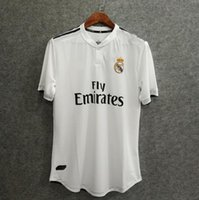 Wholesale uniform name - ^_^ Wholesales 18 19 real madrid home player version soccer jersey custom name number ronaldo 7 kroos 8 bale 11 uniform football jersey