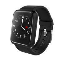 écran de pression achat en gros de-Smart Watch IPS Écran Smart Bracelet Fitness Bracelet Fréquence Cardiaque Tensiomètre Imperméable Hommes Montre Sport