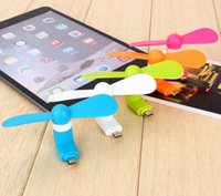 mini ventiladores 5v al por mayor-Ventilador de enfriamiento USB 5V Mini Ventilador de USB Ventilador de bolsillo Multicolor Viajes Super teléfono celular portátil Mini ventilador Enfriador de refrigeración Para Iphone Samsung