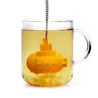 индивидуальные подарочные пакеты оптовых-Горячий продавать дайвер чайные пакетики ситечко силикагель устройство личность подарок любовь главная чайная ложка чай устройство