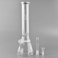 Wholesale Hi Ice - Hi Si Bong!Oil Rig Bong Honeycomb Perc glass water pipe with Ice Pinch 18mm female Joint Beaker bong 15 Inch