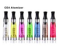 Wholesale ego ce4 tanks resale online - CE4 Atomizer eGo Clearomizer ml ohm vapor tank Electronic Cigarette for e cig battery colors wick CE4 CE5 DHL shipping