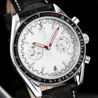 Wholesale relojes women - All Subdials Work AAA Mens women Stainless Steel Quartz Wristwatches Stopwatch Luxury Watch Top Brand relogies for men relojes high quality