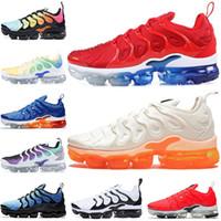 size 40 03587 062e0 Nike Air Vapormax VM TN Plus TN Plus USA Creamsicle Jeu Royal Grape Light  Menta Hommes Chaussures De Course Triple Blanc Noir Hyper Violet Femmes  Designer ...