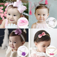 Wholesale Baby Lovely Headband styles Toddler Kid hair band Infant Birthday party Hair Accessories Photography props girl tire headdress hair hoop