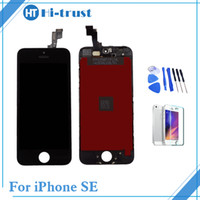 Wholesale pc assembly - 1 Pcs AAA++ For iPhone SE LCD Display No Dead Pixel And Touch screen Digitizer Assembly Replacement With Free Shipping