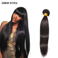 saç örgüsü demetleri satın alma toptan satış-Perulu Düz Saç Demetleri Insan Saç Uzantıları Remy Saç Örgü Demetleri 3/4 demetleri satın alabilirsiniz