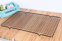Wholesale cake metal holder for sale - Group buy Nonstick Metal Cake Cooling Rack Net Cookies Biscuits Bread Muffins Drying Stand Cooler Holder Kitchen Baking Tools