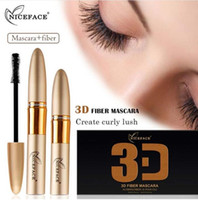 Wholesale 3d fiber lashes for sale - Group buy NICEFACE Mascara Curling Thick Eyelash Pomade Set Waterproof Eye Makeup D Silk Fiber Lashes Extension Natural Cosmetic