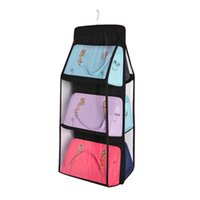 Family Organizer Backpack handbag Storage Bags Be Hanging Shoe Storage Bag High Home Supplies 6 Pocket Closet Rack Hangers  sc 1 st  DHgate.com & Shop Plastic Shoes Hanger UK | Plastic Shoes Hanger free delivery to ...