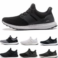 Wholesale core quality - Best Quality Ultra Boost 4.0 Core Primeknit Runner Fashion Ultraboost Running Sneaker Sports Shoes For Men Women Eur36-45