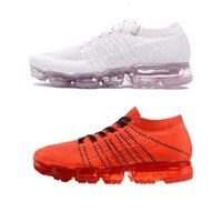 Wholesale summer cut out boots - Vapormax Running Shoes Men Women Outdoor walking sports boots Vapor Black White Sport Shock Jogging Hiking Sports Athletic fast shippment