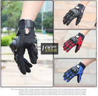 мотоциклетные перчатки красный карбон оптовых-Pro-Biker Мотоциклетные перчатки Luva Motoqueiro Guantes Moto Motocicleta Luvas de moto Велоспорт перчатки для мотокросса