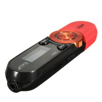 поддержка цифровых оптовых-Портативный USB Цифровой ЖК-экран Поддержка 16 ГБ TF Карта FM MP3-плеер