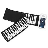 jouets musicaux en plastique achat en gros de-Nouveau Portable Silicone + plastique 88 Touches Main Roll Up Clavier électronique avec MIDI Apprentissage Apprentissage Jouet Musique Jouet Musical