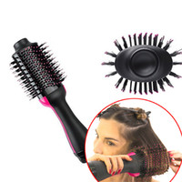 secador de escova de estilo venda por atacado-Um secador de cabelo da etapa, modelador de íon negativo do gerador da escova do estilo do ar quente do salão de beleza para todo o tipo do cabelo