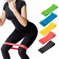 ingrosso attrezzature fitness palestra-5pcs bande elastiche di resistenza di tensione Home Gym Workout Bodybuilding Muscle Forza Training Yoga Attrezzature per il fitness Expander