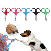 Wholesale wholesale for nails products - Wholesale-5pcs set Stainless Steel Dog Pet Nail Clippers Scissors Claw Clippers Trimmers Cutter Grooming for Nail Dog Puppy Pet Supplies
