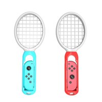Wholesale game joy online - Tennis Racket for Nintendo Switch Joy Con Controller Accessories for Nintendo Switch Game Mario Tennis Aces Twin Pack
