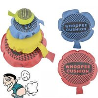 Wholesale Funny Pad - 9cm 16cm April Fool Day Kids Fun Prank Toys Whoopee Cushion Joke Gags Pranks Maker Tricks Funny Toys Fart Pad Pillow CCA8870 120pcs