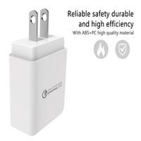 usb power charge iphone venda por atacado-Carregador rápido Adaptador USB 3.0 Power Adapter para Smart Phones Tablets Eletrônica Digital e Outros Equipamentos Frete Grátis Quick Charge