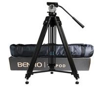 головка видео штатива оптовых-wholesale DHL Pro BENRO KH25N KH-25N Video Camera Tripod Professional Hydraulic Head Magnesium Alloy Tripod+Video Tripods Bag