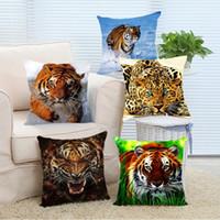 fundas de almohada de impresión de tigre al por mayor-18