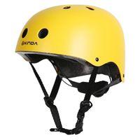 Wholesale hard head helmets resale online - NEW Professional Mountaineer Helmet Rock Climbing head protection hard hat Outdoor Camping Hiking Riding Drift Helmet PYY8892