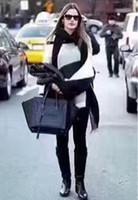 el çantaları için metal saplar toptan satış-Kadınlar Tasarımcı Çanta Omuz çantası çapraz vücut çanta Bez Çanta ile Bambu kolu 2018 YENI 2810
