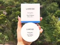 Wholesale cc cream concealer resale online - Korea Brand Laneige Marshmallow Sun Cushion Cream Concealer Primer Foundation CC Cream