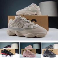 zapatillas deportivas para niños al por mayor-Blush Desert Rat Infant 500 Runners niños Zapatillas de deporte Utilidad Negro Bebé niño niña Toddler Jóvenes entrenadores Diseñador Niños zapatillas de deporte