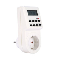 Wholesale programmable digital timers for sale - Group buy Hours days week EU US UK AC Plug Programmable Timer Switch Socket Digital LCD Electronic Plug in Smart Home