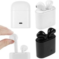 Wholesale earbuds for cell phones resale online - HBQ i7 TWS Twins Wireless Earbuds Mini Bluetooth Stereo Headset earphone For all kinds of smart phone