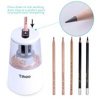 Wholesale Used Holes - Electric Pencil Sharpener High Quality Automatic Electronic And One Hole Plug In Use Safety For Kids Automatic Desktop