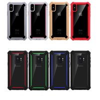Wholesale cases for lg cell phone for sale – best Phone Case Dual Layer TPU PC Hybrid Shockproof Anti Shock Defender Cell Phone Case For Samsung Galaxy Note S9 J3 Prime