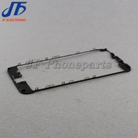 Wholesale iphone middle frame bezel hot glue for sale - 10pcs Front Frame Middle Bezel LCD Supporting Frame With hot glue For iPhone