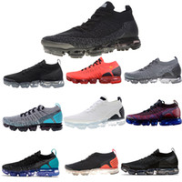 Wholesale Performance Running - New Vapormax Mens Running Shoes Designer Performance-Woven Upper Breathable shoes For Men Sneakers Women Athletic Sport Hot Corss Hiking