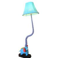 ingrosso luce elefante del bambino-OOVOV Cute Cartoon Elefanti Baby Room Lampada da terra Creative Kid's Room Lampade da terra Camera da letto Luce