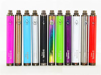Wholesale clearomizer ego twist - Vision Spinner 2 II 1650mah Ego Twist Type Variable Voltage Battery W  Charger E Cig Electronic Cigarettes Fit 510 eGo atomizer Clearomizer