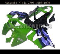 ingrosso zx9r 1998 carenatura-Nuovo kit carrozzeria carrozzeria carena ABS per Kawasaki Ninja ZX9R 1998 1999