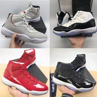 Wholesale womens size 11 shoes for sale - With Original box Mens s Concord Platinum Tint Cap and Gown Bred womens sports sneaker trainers shoes size