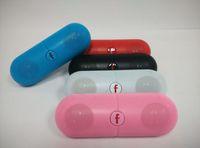 yeni hap hoparlörü toptan satış-2019 Yeni tip XL Hap Konuşmacılar Bluetooth Hoparlör B50 Hap Perakende Kutusu ile XL Hoparlör Süper Derin Bas tablet PSP Smartphone için