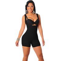 emagrecimento de bodys completos venda por atacado-Butt Lift apertado Sculpting Shaper Corpo Controle Fat Shapewear Full Body Bodysuits Mulheres Sexy Slimming Roupa interior Hip Up